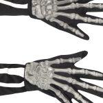 Skeleton Gloves, Adult