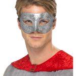 Metallic Warrior Colombina Eyemask