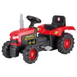 Dolu Kids Children's Ride On Red Tractor Pedal Operated Toy Age 3+ Years
