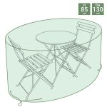 Small Round Tarpaulin Furniture Set Cover Bistro Set Cover