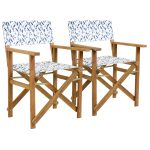Claremont Director Chair(Pair)Dragonfly Hardwood